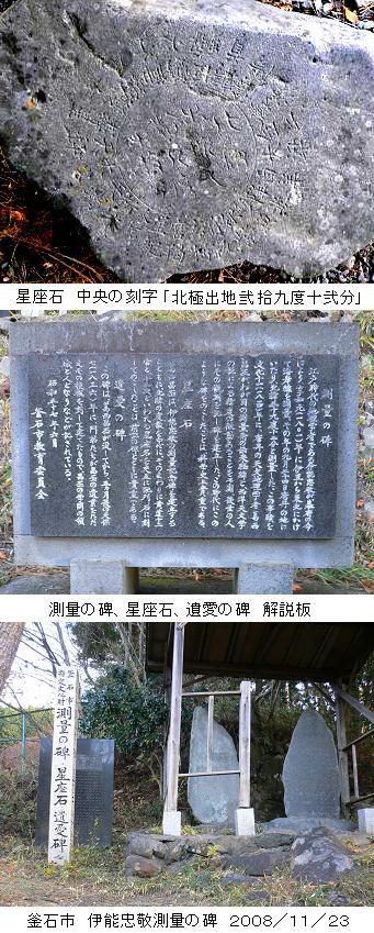 日本の測量史 伊能